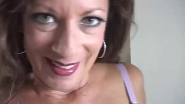 Very sexy old spunker enjoys a hard fuck and a sticky facial cumshot