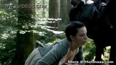 Hotmoza.com - Laura Donnelly milking out her breast