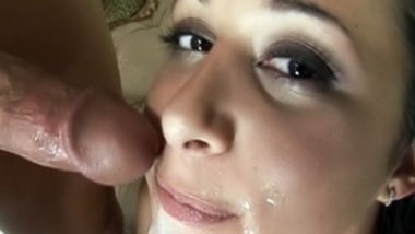 Big titty brunette getting the hardcore dp