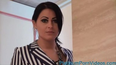 PlatinumPornVideos.com - Stunning German Milf Fuck 2 Young Boys