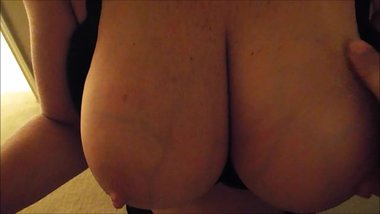 Just big ass tits with veins showing.
