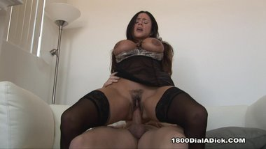 800DAD Ariella Ferrera needs a handyman to start her fire and get more heat