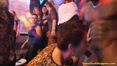 Crazy Milfs And Girlfriends Become Jezebels During Stripper Night