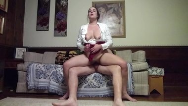 Milf Becky Tailor takes the dick and pounded hard after long day of work...