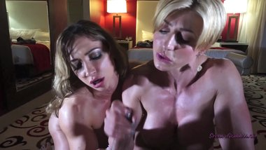 Rapture and Brandy Have fun With Their Muscels