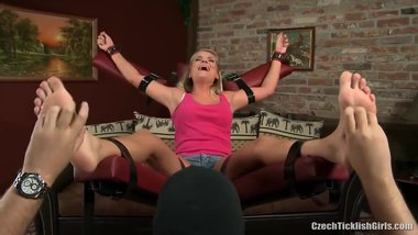 heather sexy feet tickle torture