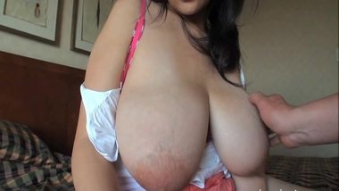 Japanese Schoolgirl Get Cum On Huge Tits