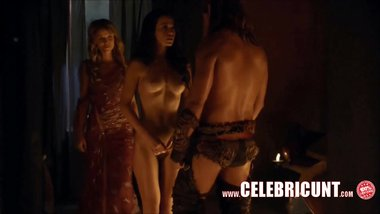 Naughty Sex Scenes From Spartacus Celebrities Tits Ass & Snatch