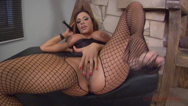 On Your Knees, Bitch! - Ariella Ferrera Femdom POV JOI