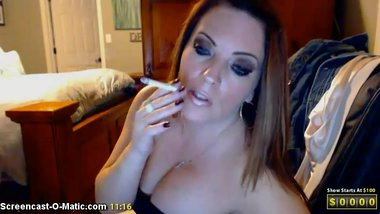Lexis 120's Smoking MILF
