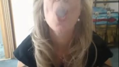 Mature Smoking Woman - MILF Smoking