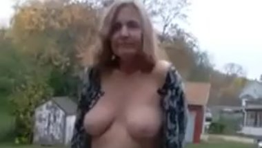 Public Exposure and Blowjob (Redhot Redhead Show 10-16-2016)