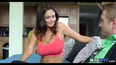 Huge Tit Wife Horny for new Cock